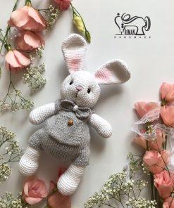 عروسک بافت طرح خرگوش